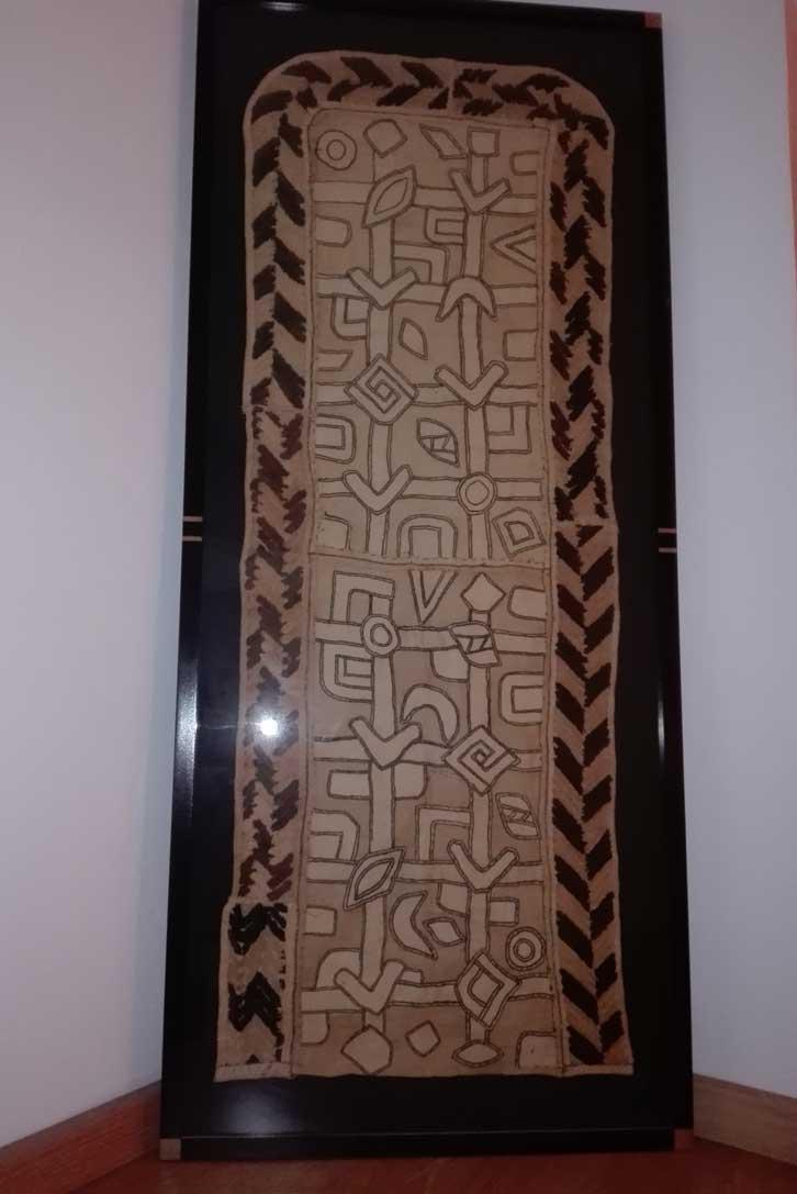 Textil Kuba enmarcado – Africartmadrid