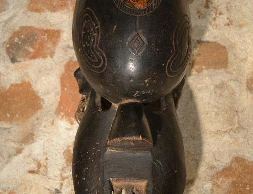 Máscara Salampasu, negra